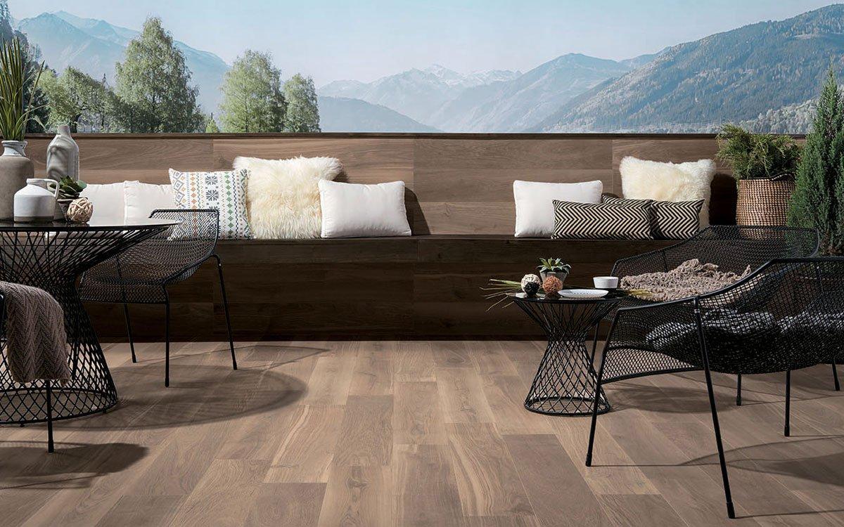 Pavimenti Per Terrazzi Esterni pavimenti per esterni gres porcellanato: in e out | fap