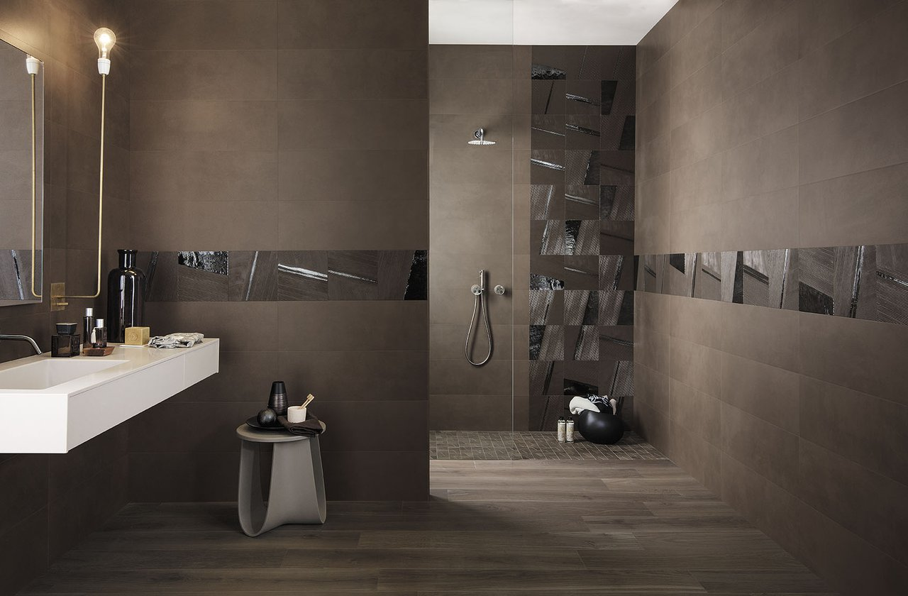 Tiles color Brown FAP Ceramiche - MAT&MORE