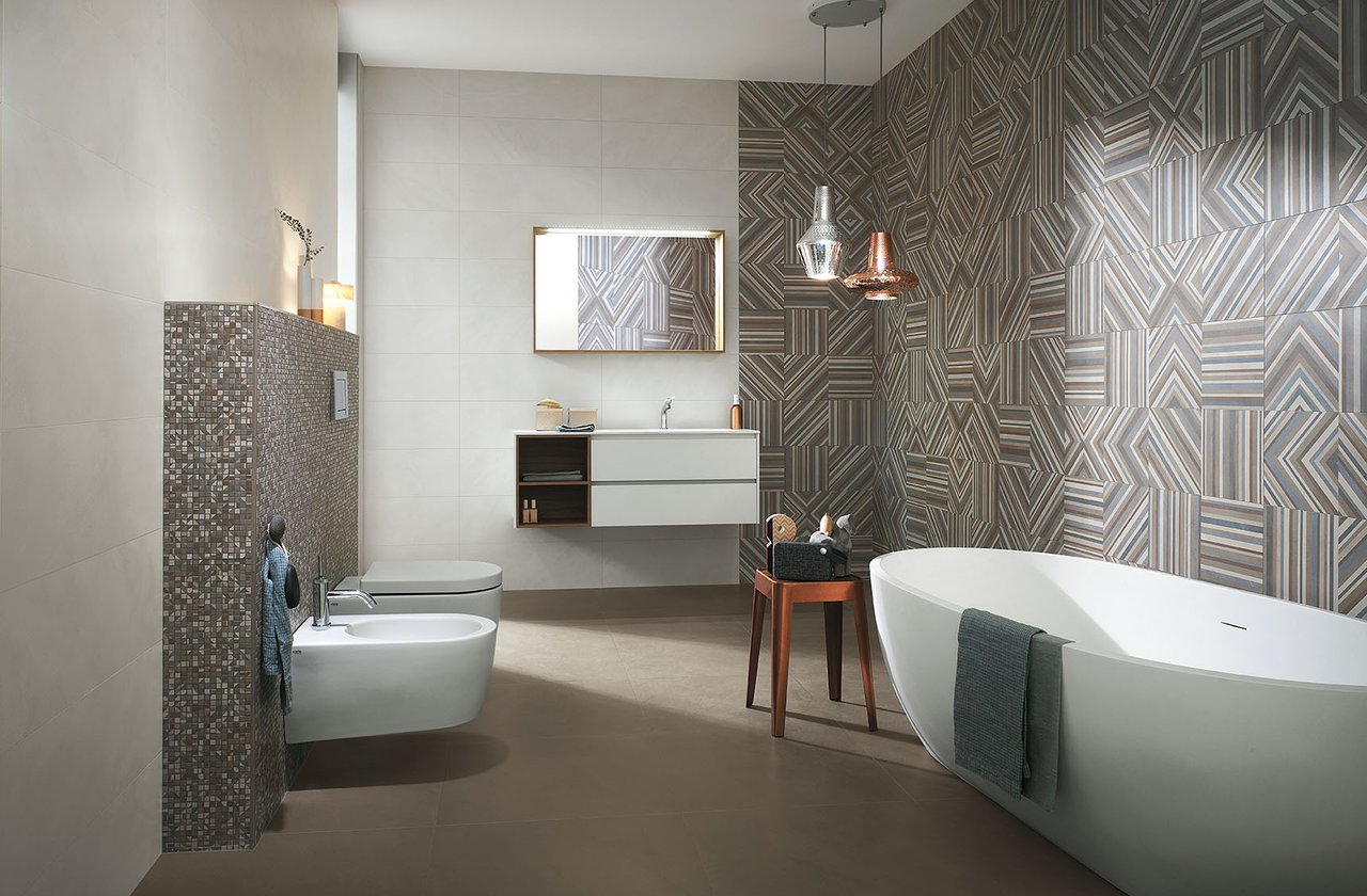 Tiles color Brown FAP Ceramiche - COLOR LINE