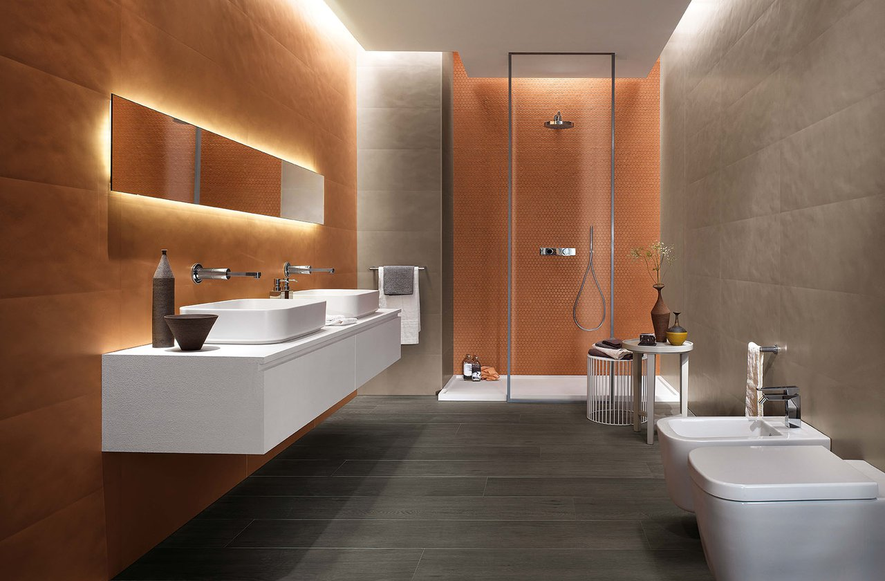Tiles color Brown FAP Ceramiche - COLOR NOW