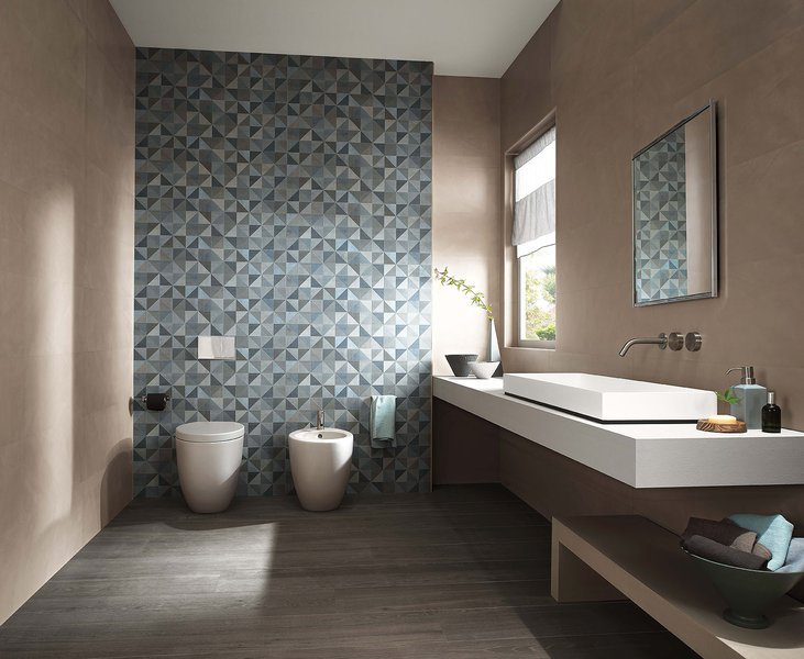 Color now rivestimento per il bagno moderno glamour e di tendenza