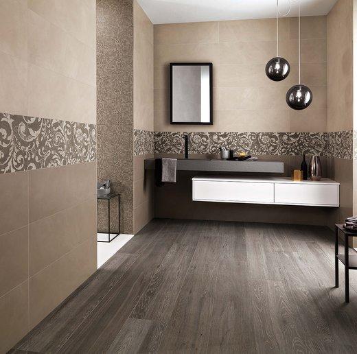 Color now rivestimento per il bagno moderno glamour e di tendenza fap - Piastrelle color tortora ...