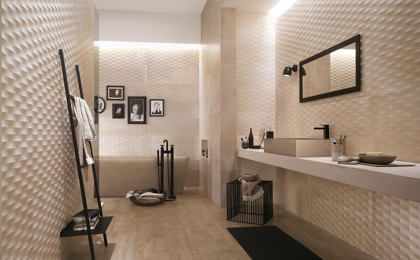 Bagni Di Lusso Moderni creta: rivestimenti per bagni di lusso | fap