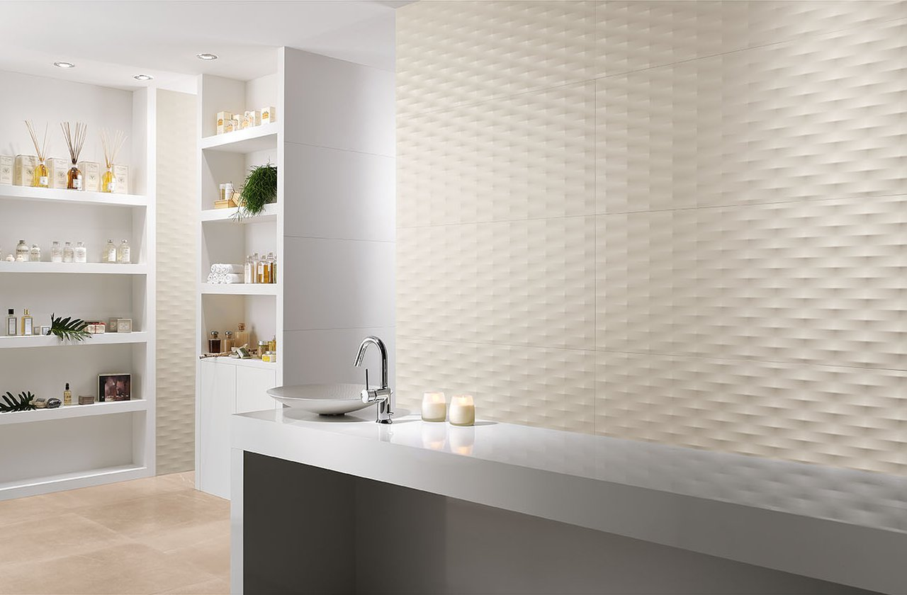 Fliesen optik 3D FAP Ceramiche - LUMINA 50X110