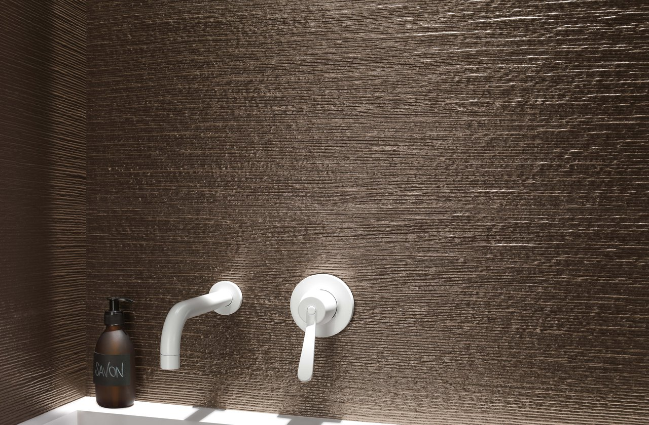 Tiles color Brown FAP Ceramiche - LUMINA 25x75
