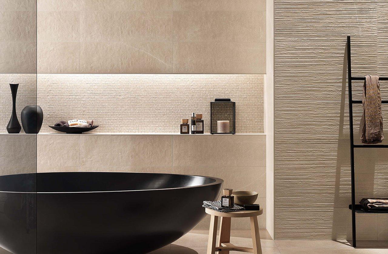 Rivestimenti bagno piastrelle bagno in ceramica fap for Maioliche bagno