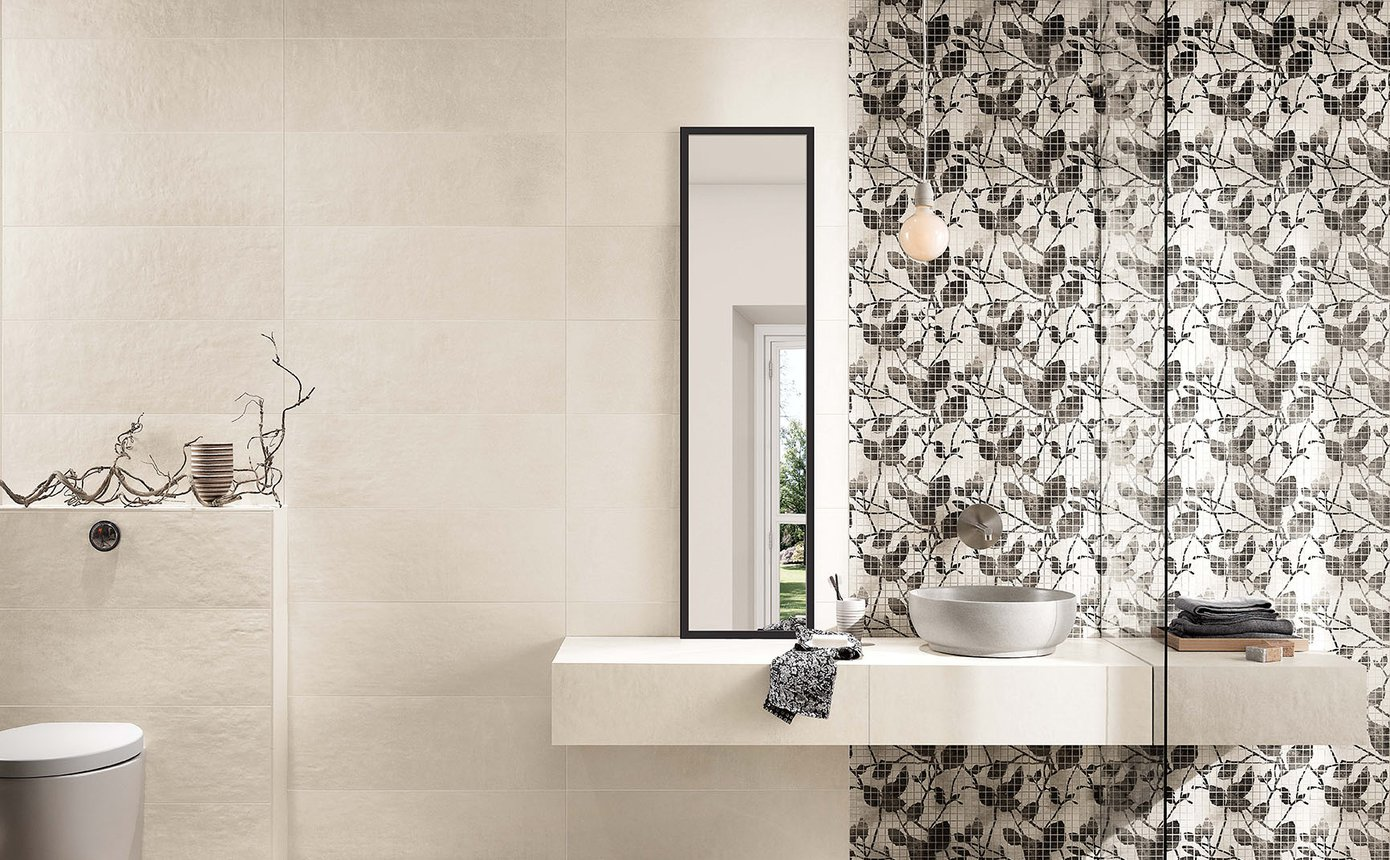 Maku Rock Effect Wall Tiles And White Body Coverings Fap