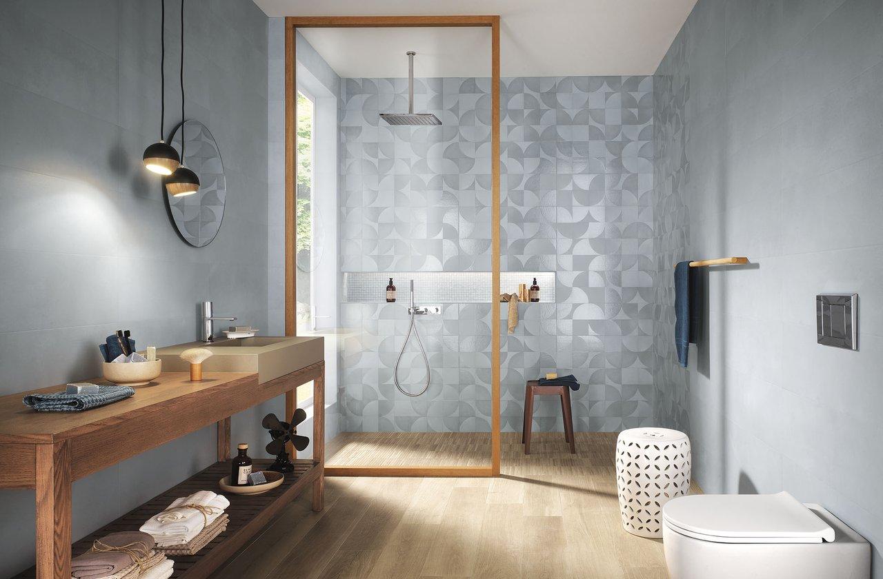 Bagno Con Mosaico Bianco fap ceramiche: piastrelle gres made in italy | fap