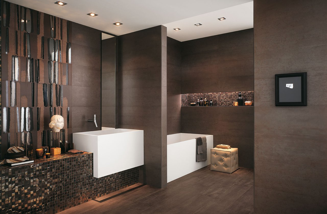 Tiles color Brown FAP Ceramiche - MELTIN