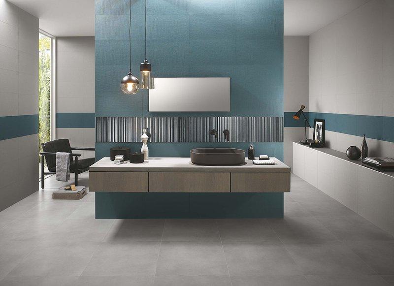 Piastrella blu milano wall fap for Wall and deco showroom milano