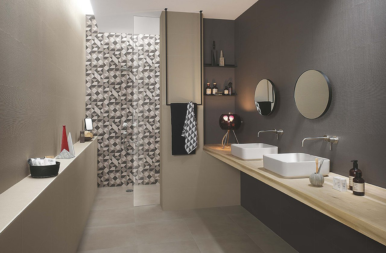 Tiles color Brown FAP Ceramiche - MILANO&WALL