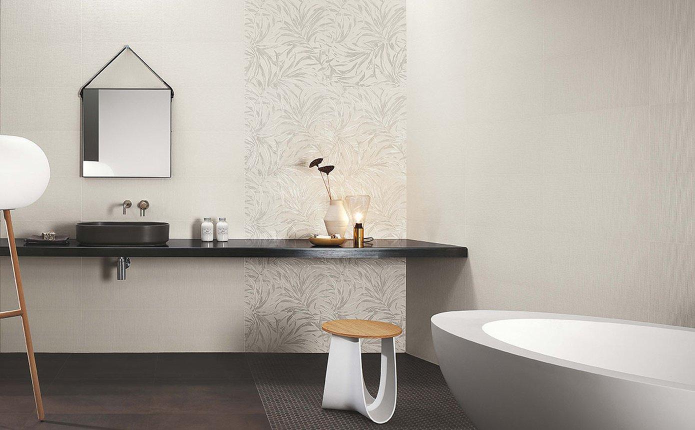 Bagno Con Mosaico Bianco milano&wall: rivestimenti e piastrelle per il bagno | fap