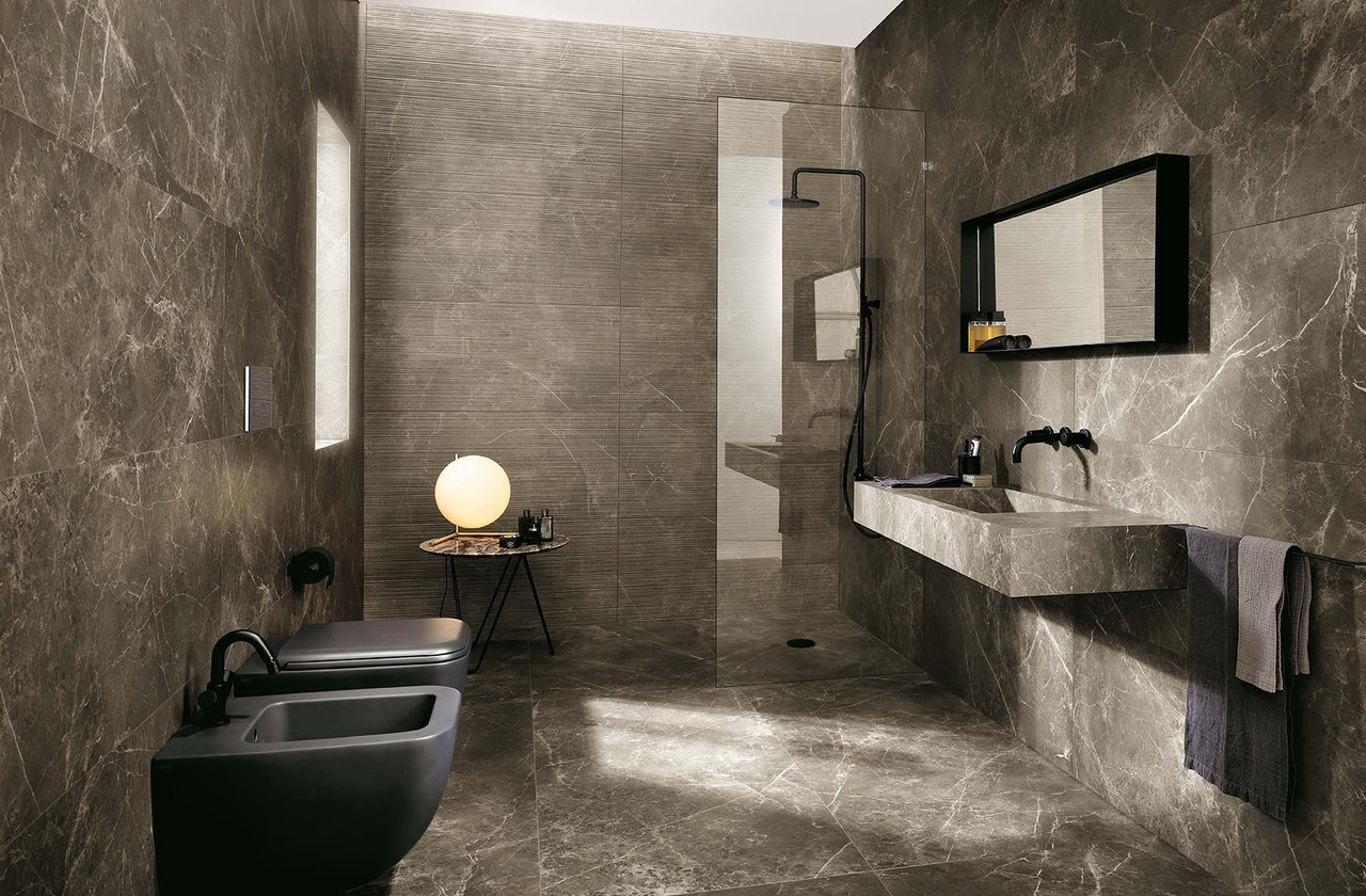 Tiles color Brown FAP Ceramiche - ROMA