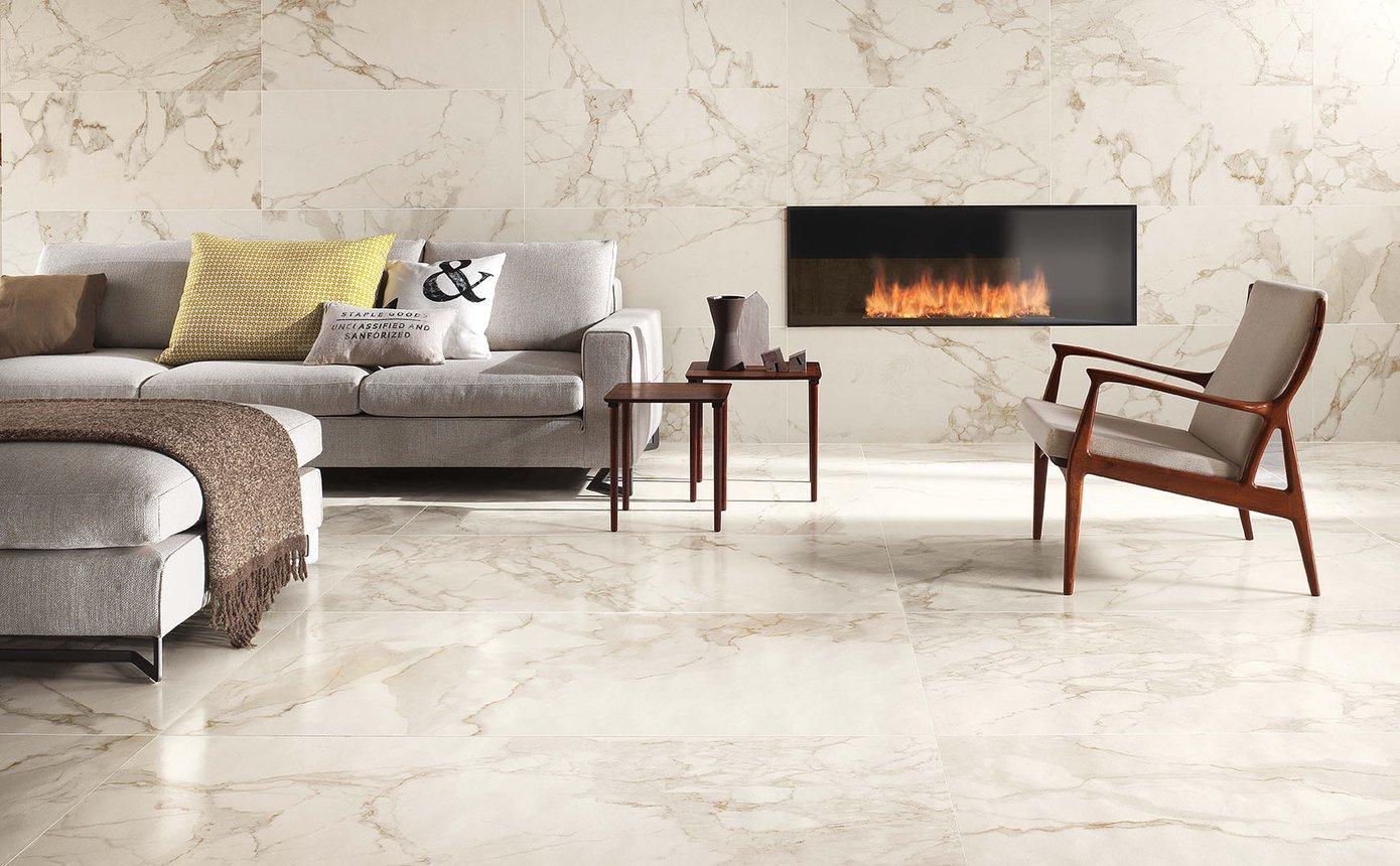 Pavimento Finto Marmo Lucido roma: pavimento in gres effetto marmo e pietra | fap