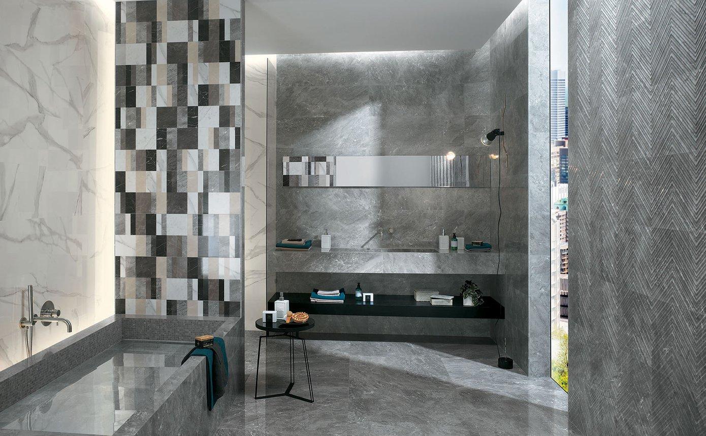 Piastrelle effetto marmo roma classic fap