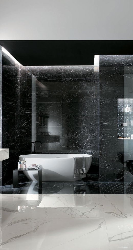 Roma Classic Classic Tiles With Marble Effect Fap