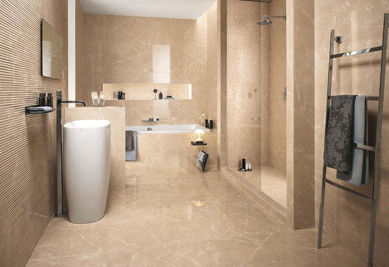 Roma Diamond: pavimenti in gres porcellanato effetto marmo   FAP